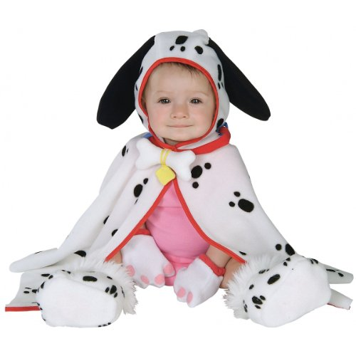 Infant Baby Dalmation Puppy Dog Costume Cape (3-12 Months) -