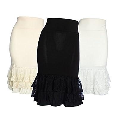 Peekaboo-Chic Classy vs Sassy Half Slip Skirt Extender