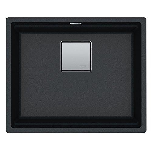Franke KNG 110–52125.0528.612Fragranite Kanon Undermount Sink, Onyx