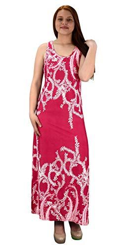Impresión Maxi Couture Sin Exclusiva Peach Mangas Playa Rosa Camiseta Con Redondo Paisley Cuello vzRnqawWg