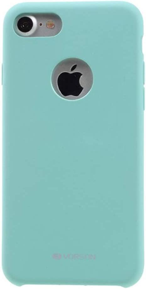 VORSON VC-005 iPhone 7 Rubber Silicone Metal Plated Case Sea Blue, iPhone 7 Case, iPhone 7S Case, iPhone Case, iPhone Case Types, Impact Resistant