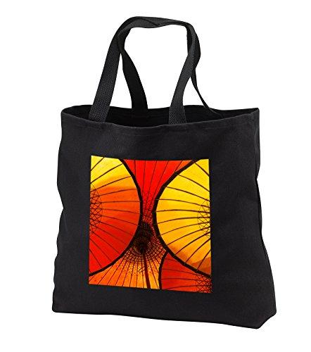Danita Delimont – Umbrella – Handmade oriental umbrellas, Bagan, Myanmar, Burma – Tote Bags – Black Tote Bag 14w x 14h x 3d (tb_225462_1)