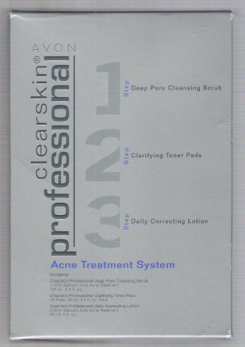 Avon Clearskin 3 Step Professional Acne Treatment System