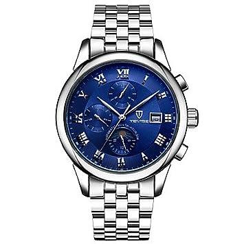 Relojes Hermosos, Hombre Mujer Pareja Reloj Deportivo Reloj Esqueleto Reloj de Moda El reloj mecánico