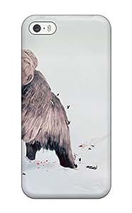 Hazel J. Ashcraft's Shop New Tpu Hard Case Premium Iphone 5/5s Skin Case Cover(big Ice Age Mammoth) 5973085K59053521