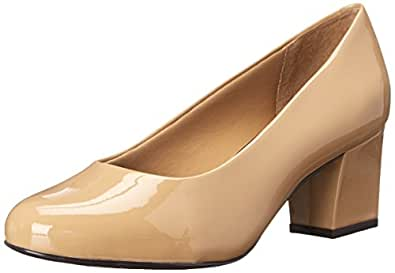Trotters Women's Candela, Nude Patent, 5 M US