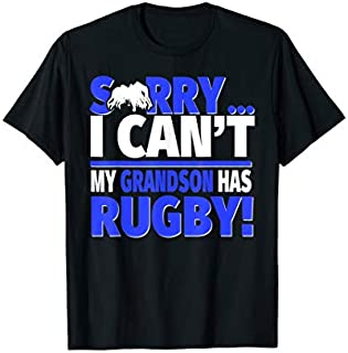 Best Gift Rugby Grandma or Rugby Grandpa  - Sorry I Can't Rugby Need Funny TShirt / S - 5Xl