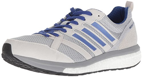 adidas Women's Adizero Tempo 9 Running Shoe, Grey/Real Lilac/Mystery Ink, 8 M US