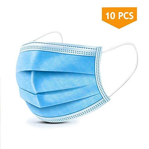 🥇 10PCS Disposable Face Masks