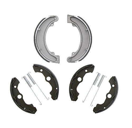 Race Honda (Race Driven Honda OEM Replacement Front and Rear Brake Shoes Brakes for FourTrax 300 TRX300 TRX300FW)