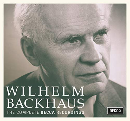 Wilhelm Backhaus: Complete Decca Recordings [39 CD] from DECCA