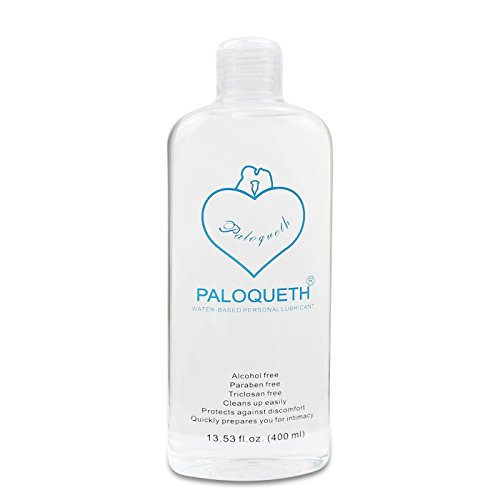 Water Based Lubricant, PALOQUETH Personal Lube for Vagina Anus and Sex Toys 13.5 fl.oz (400ml)