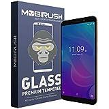 ZIVITE Mobirush Anti Fingerprint Tempered Glass Screen Protector for Meizu C9 (Transparent)