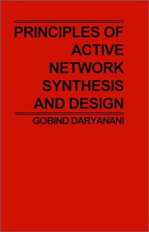 Principles of Active Network Synthesis and Design