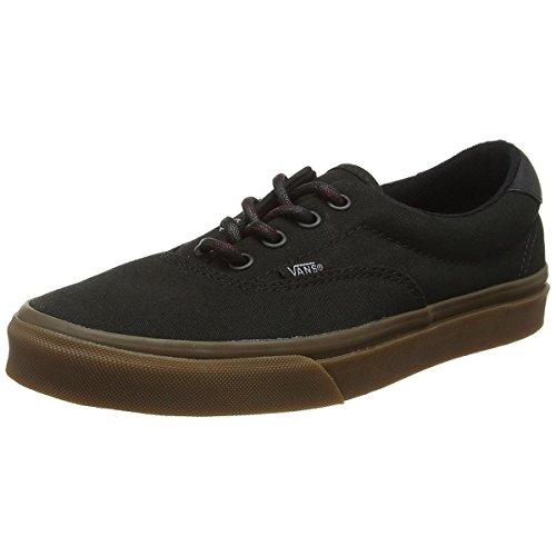 Vans Era 59 Mens Size 7 / Womens 8.5 Hiking Black Gum Skateboarding Shoes