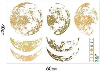 Pegatinas de pared Hermoso patrón de fases lunares pegatinas de ...