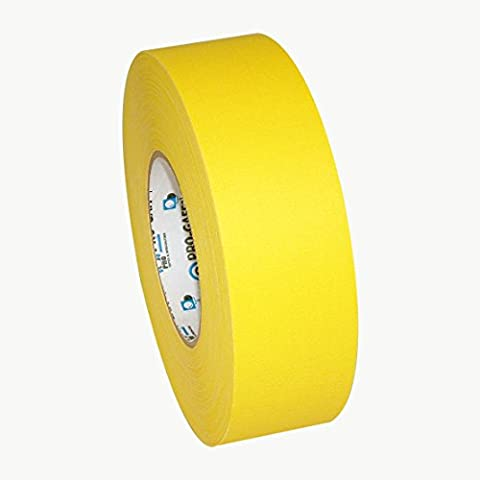 Pro Tapes Pro-Gaff Gaffers Tape: 2 in. x 55 yds. (Yellow) (Pro Stages)