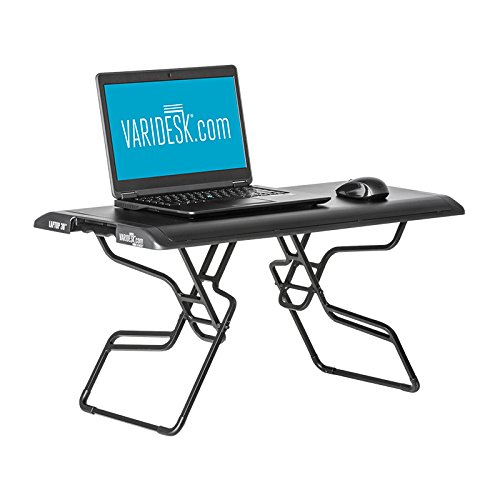 Small Standing Desk VARIDESK Laptop 30 Portable Stand Up Desk …