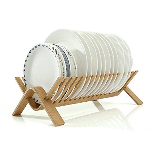 Drain rack, kitchen storage rack tableware placed folding di