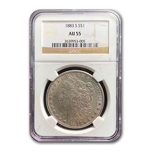 1883 S Morgan Dollar AU-55 NGC $1 AU-55 NGC