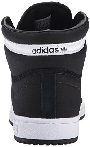Zapato Adidas Originals Top Ten Hola baloncesto, blanco / rojo / azul, 8 M US Negro/Blanco/Negro