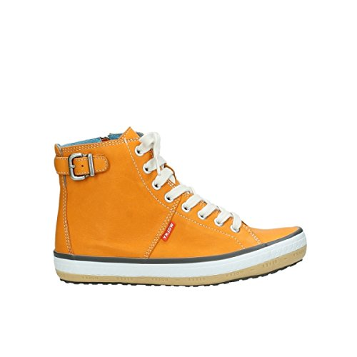 Wolky Haute Dentelle 20550 Cuir Orange 1225 Motard