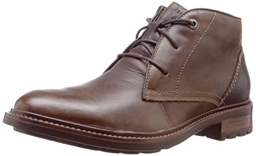 Josef Seibel Men's Oscar 11 Chukka Boot, Moro, 42 EU/9 M - Ladies Shoes Seibel Josef