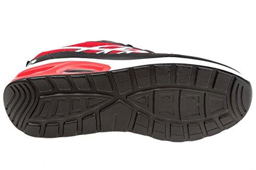 gibra - Zapatillas de sintético/textil para hombre Rojo - rojo