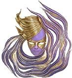 "24"" Italian Venetian Carnival Wall Mask Sculpture Décor"