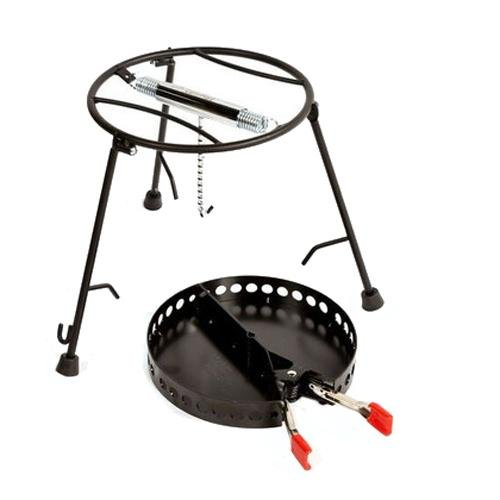 Campmaid 2pc Combo Lid Lifter/Charcoal Holder