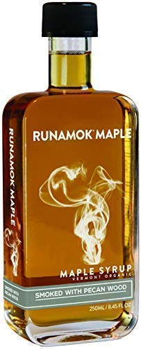 Runamok Maple Smoked with Pecan Wood Syrup | Organic Vermont Maple Syrup | 8.45 Ounce | ()