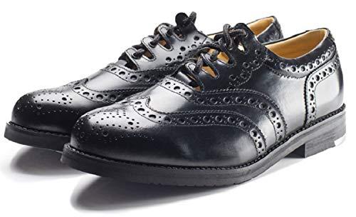 Standard Piper Ghillie Brogues UK 8.5 Black