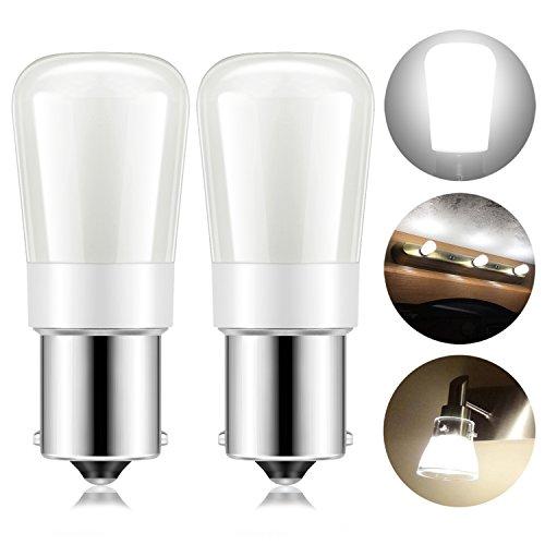 Kohree 1156 Vanity Light Bulb Replacement 20-99/1141 / BA15S LED Bulb 12V or 24V LED Bulb for RV Camper Trailer Motorhome 5th Wheel and Marine Boat (Natural White)