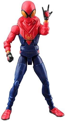 DSJSP おもちゃ 絶妙なおもちゃの装飾品- トイ - マーベルトイ - DCトイ - アベンジャーズ3/4ジョイント取り外し可能 - スパイダーマングウェン 滑らかな線 (Color : B)
