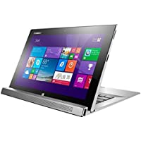 Lenovo Miix 2 11.6-Inch Detachable 2 in 1 Touchscreen Laptop (59414153) Silver
