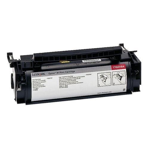 (17G0154 Lexmark brand OPTRA M410 / M412 series toner, Black High Yield)