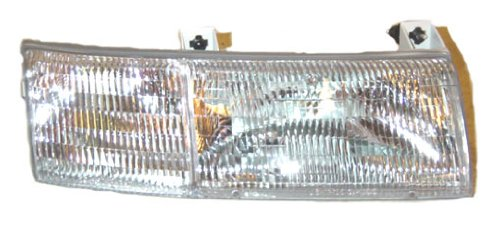 Partslink Number FO2503129 Unknown OE Replacement Mercury Sable Passenger Side Headlight Assembly Composite