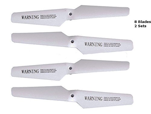 Top Race® TR-Q511 Drone Quadcopter Rotor Blades Spare Blades (2 Sets)