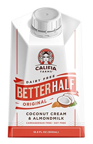 Califia Farms Better Half Coffee Creamer, Original, 16 Ounce
