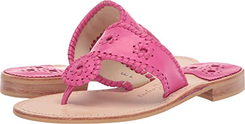 Jack Rogers Women's Jacks Flat Sandal Magenta 6.5 M for sale  Delivered anywhere in USA