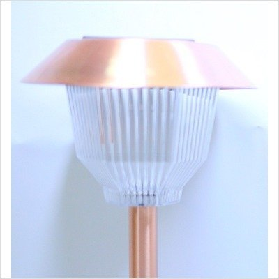 Homebrite Copper Garden Landscape Solar Light