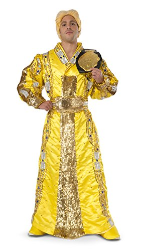 Wwf Wrestlers Fancy Dress Costumes (Rubie's Costume Co Men's WWE Ric Flair Grand Heritage Costume, Multi, Large)