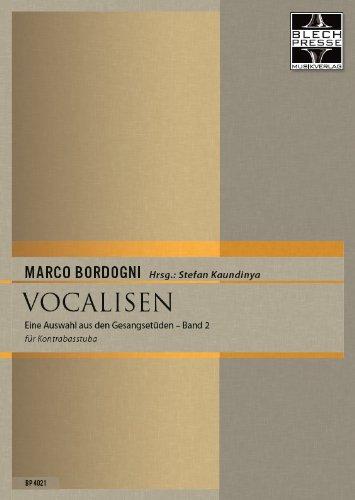 Vocalisen für Kontrabasstuba Band 2 (gesangliche Übungen und Etüden für Tuba in tiefer Lage)