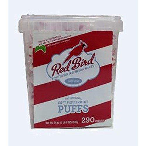 Piedmont Red Bird Peppermint Puffs, 290 ct. (pack of 2) ()