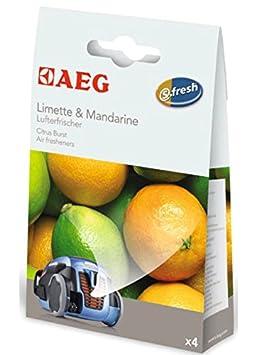 Brise tropicale Lot de 4 D/ésodorisants pour Aspirateur AEG 900167784 S-Fresh