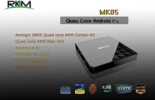 Rikomagic MK05 PCs/estación de trabajo 1,5 GHz S805 Negro: Amazon.es: Electrónica