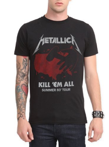 Hot Topic Metallica Killx27;Em All Summer Tour T-Shirt Size : X-Large