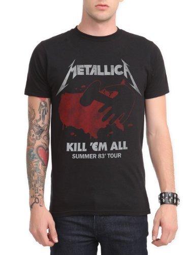 Hot Topic Metallica Killx27;Em All Summer Tour T-Shirt Size : X-Large (Metallica Jump In The Fire T Shirt)
