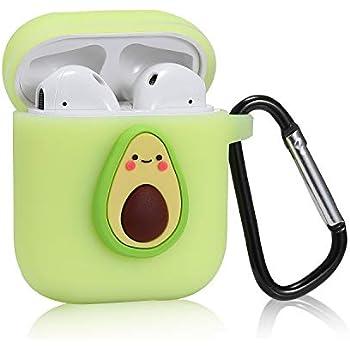 Amazon Com Logee Small Avocado Case For Airpods 1 2 Cute