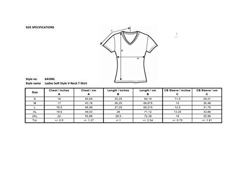 Scollo Manica Shirt Corta V a Juventus T Donna xqzFAw7xX